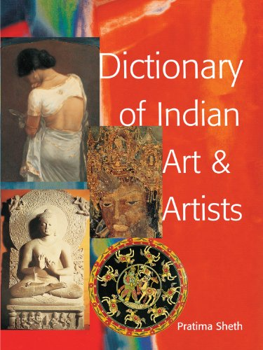 9788185822907: Dictionary of Indian Art & Artists