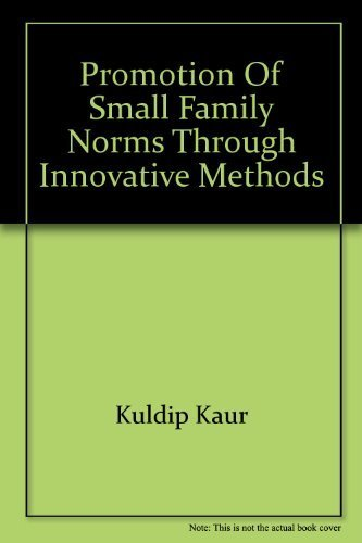 9788185835310: Promotion of small family norms through innovative methods