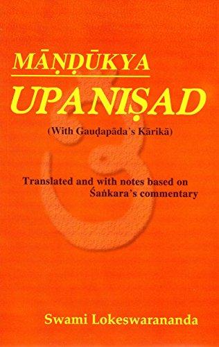 9788185843711: Mandukya Upanisad (With Gaudapada's Karika)