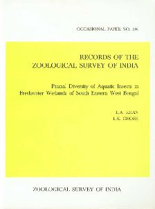 Records of the Zoological Survey of India: R A Khan