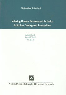 9788185877938: Indexing Human Development in India ; Indicatiors, Scaling and Composition