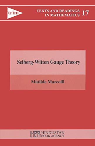 9788185931227: Seiberg-Witten Gauge Theory