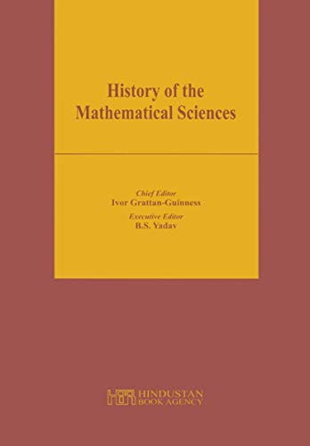 9788185931456: History of the Mathematical Sciences