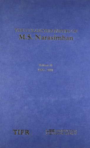Collected Papers of M S Narasimhan (2: Nitin Nitsure