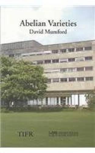 Abelian Varieties (Tata Institute of Fundamental Research): Mumford, David