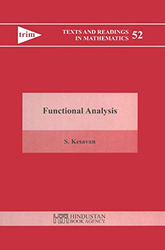 9788185931876: Functional Analysis (Texts and Readings in Mathematics)