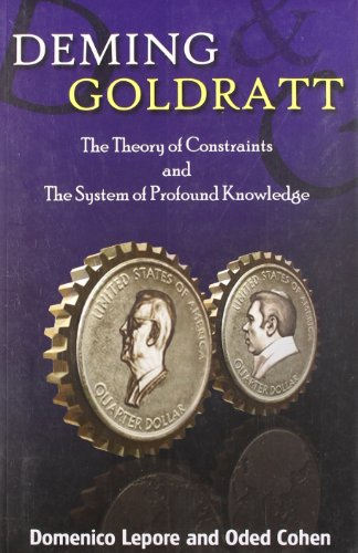 9788185984230: Deming Goldratt : The Theory Of Constraints & The System Of Profound Knowledge