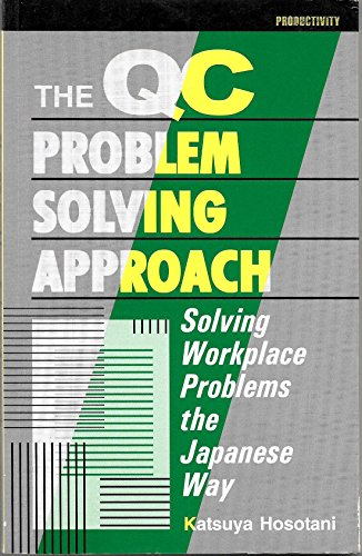 9788185985299: The QC Problem Solving Approach