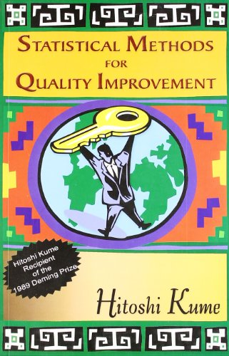 9788185985343: Statistical Methods for Quality Improvement