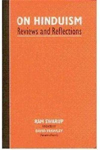 9788185990620: On Hinduism: Reviews and reflections