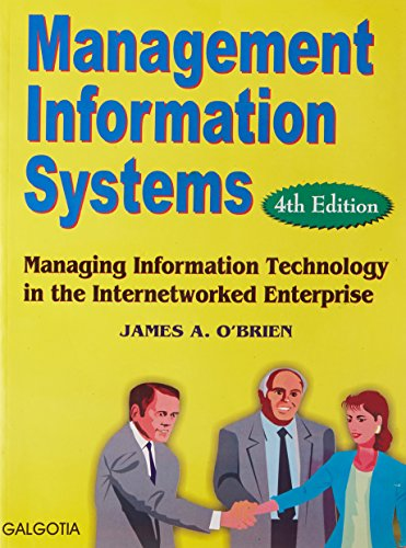 9788186011799: Management Information Systems- Managing Information Technology in the Internetworked Enterprise, International Edition, 4th