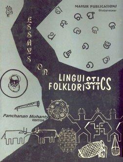 9788186040584: Essays on Linguistics and Folkloristics