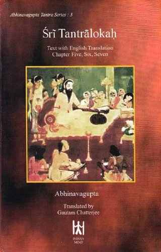 9788186117088: Sri Tantralokah: Sanskrit Text with English Translation of Chapters Five, Six and Seven