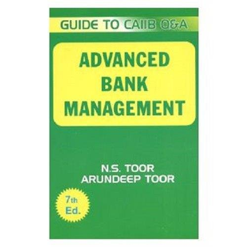 ADVANCE BANK MANAGMENT 2015: N.S.TOOR