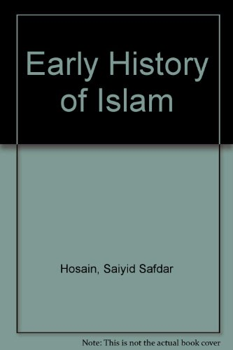 9788186142172: Early History of Islam