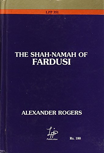 9788186142844: Shah-Nama of Fardusi; Translated From the Original Persian