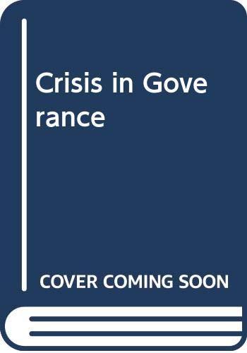 Crisis of Governance: Aftab Alam