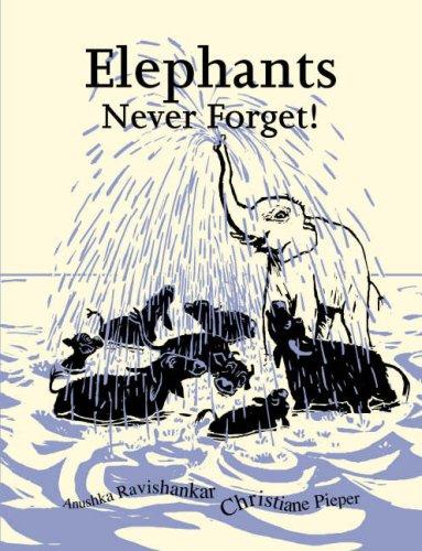 9788186211373: Elephants Never Forget! (Limited Handmade Edition)