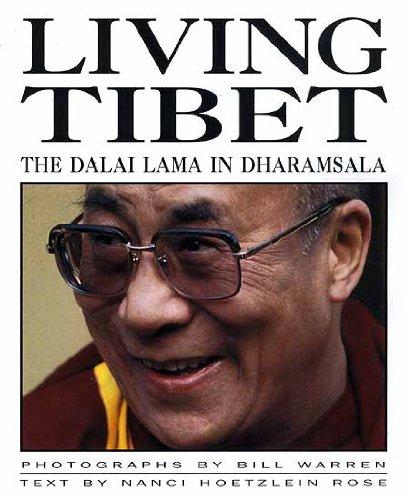 9788186230046: Living Tibet: The Dalai Lama in Dharamsala