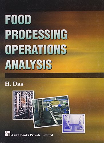Food Processing Operations Analysis: H. Das