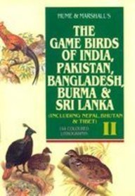 THE GAME BIRDS OF PAKISTAN: Hume and Marshall
