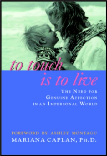9788186505717: To Touch is to Live