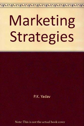Marketing Strategies: P.K.Yadav