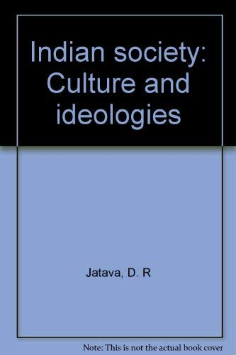 Indian society: Culture and ideologies: Jatava, D. R