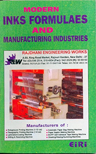 Modern Inks Formulaes & Manufacturing Industries
