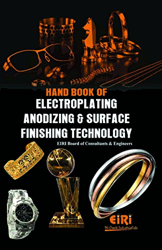 9788186732335: Hand Book Of Electroplating Anodizing & Surface Finishing Technology