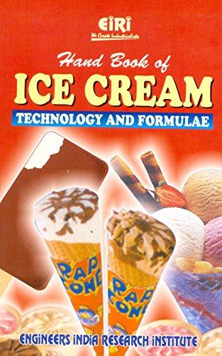 9788186732700: Handbook of Ice Cream: Technology and Formulae