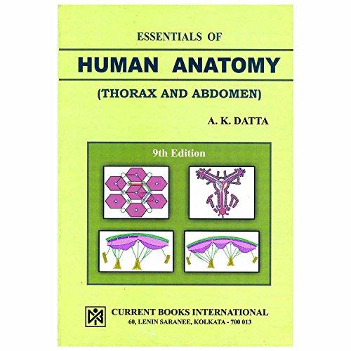 Essentials of Human Anatomy: A.K. Datta