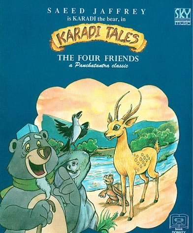 9788186838082: The Four Friends & The Musical Donkey (Karadi Tales)