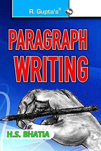 Popular Paragraph Writing: H S Bhatia