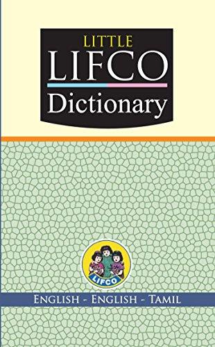 Lifco Dictionary: English - English - Tamil: Staff