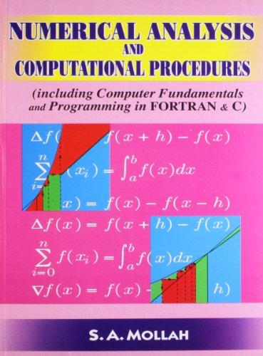 9788187134107: Numerical Analysis and Computational Procedures