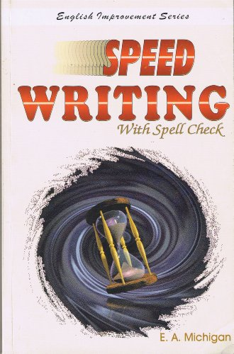 9788187138013: Speed Writing with Spell Check