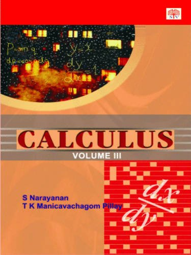 9788187156093: Calculus: v. 3