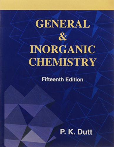 9788187169031: General and Inorganic Chemistry: General and Honours Course