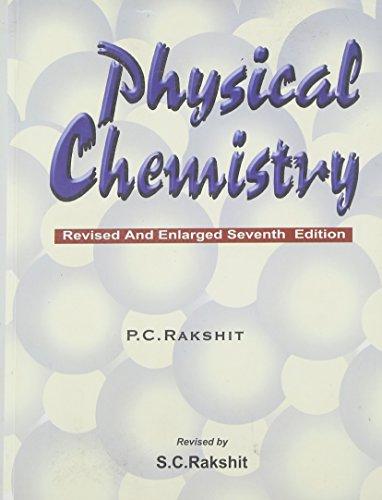9788187169079: Physical Chemistry