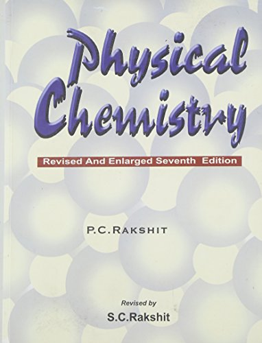 9788187169079: Physical Chemistry