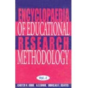 Encyclopaedia of Educational Research Methodology, 2 Vols: Carter V.Good, A.S.Barr