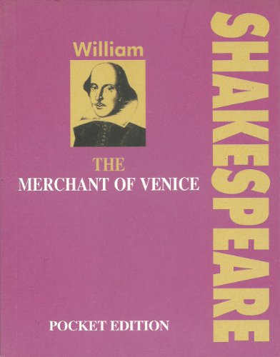 9788187288756: The Merchant of Venice POCKET EDITION by William Shakespeare (Pocket Editions)