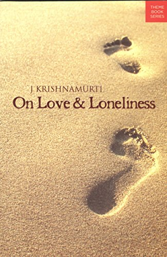 9788187326205: On Love and Loneliness