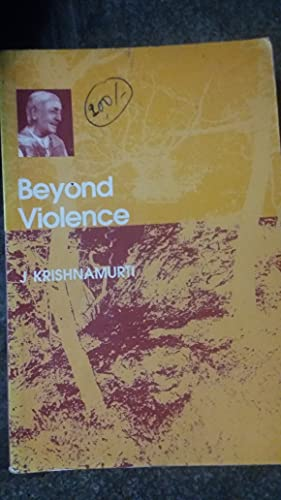 9788187326274: Beyond Violence