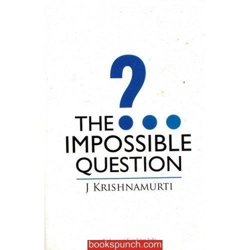 9788187326816: The Impossible Question