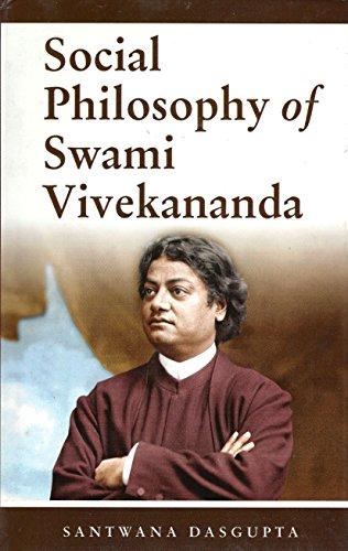 9788187332435: Social Philosophy of Swami Vivekananda