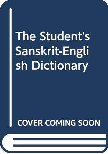 9788187418146: The Student's Sanskrit-English Dictionary