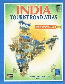 9788187460923: India Tourist Road Atlas (with India Tourist map)