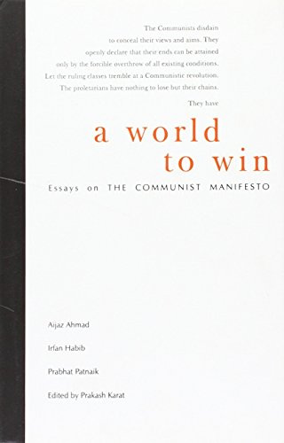 World To Win  Essays On The Communist Manifesto By Prakash Karat  World To Win  Essays On The Communist Manifesto Prakash Karat Writing Practice Online also Macbeth Essay Thesis  Essay Learning English